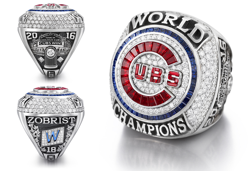 Jostens Rings Chicago Cubs
